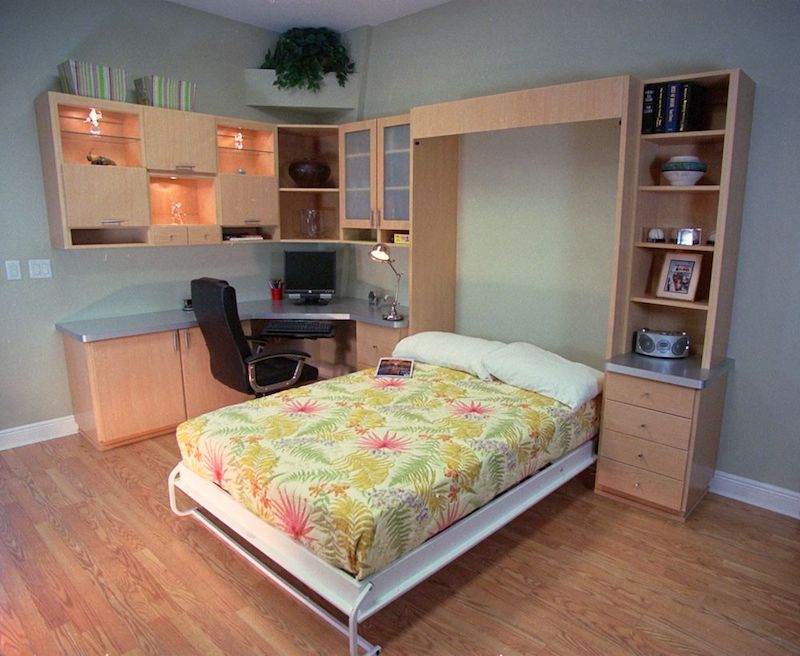 Save Space By Using A Murphy Bed